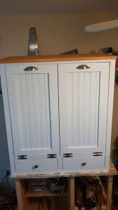 3 Bin Cabinet 8 Gal 3 Compartment Pull Out Recycling Waste Bin Trash Cans L4