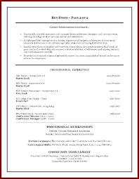 Sample Resume Objectives For Hotel And Restaurant Management by 9 Resume Objective For Hospitality Sendletters Info