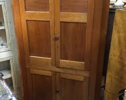 corner cupboard etsy