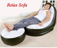 Bean Bag Sofa Bed by New Fashion Jilong Single Person Inflatable Sofa Bed Set In Living
