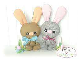 baby bunny pdf pattern easter bunny sewing pattern cute rabbit