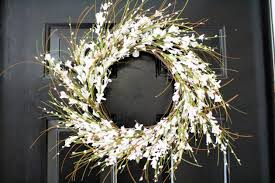 spring door wreaths enchanting handmade spring wreath designs to refresh your front door