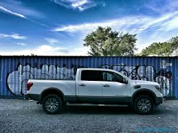 blue nissan truck 2016 nissan titan xd review not quite hd pickup makes cannonball