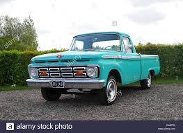 Vintage Ford Pickup Truck - 1964 ford f100 classic american pick up truck stock photo royalty