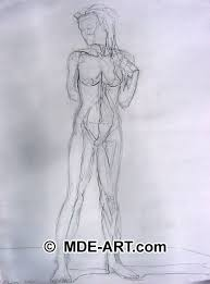 woman pencil drawings and sketches art gallery