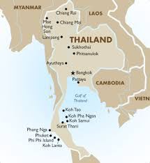 thailand travel map Google Search Vacation 2016