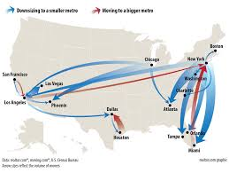 Phx Map Lots Of Angelenos Leaving La For Las Vegas And Phoenix Curbed La