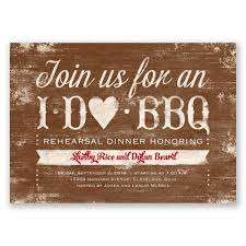 Invitation Card For Dinner I Do Bbq Rehearsal Dinner Invitation Invitations By Dawn