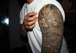 foo black ink half sleeve