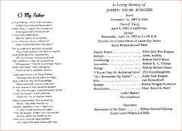 funeral programs wording 11 funeral program slesagenda template sle agenda template