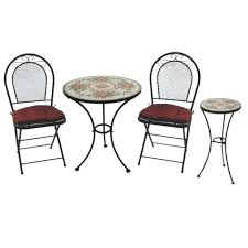 Indoor Bistro Table And Chair Set Small Indoor Bistro Table Set Guen Info