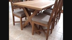 x leg dining table cross leg extending oak dining table in a staffordshire barn youtube