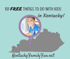 Kentucky travel for free images Kentucky family fun 101 free things to do with your kids in png