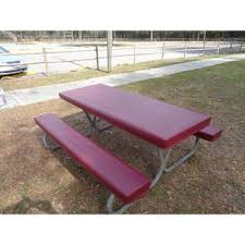 picnic table seat covers table gloves fitted 6 table cover set maroon table gloves tg mar