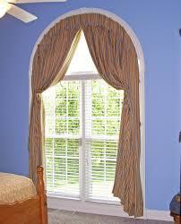 wonderful arch window curtains