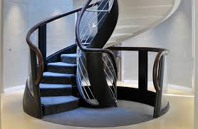 Helical Staircase Design Stairhaus Inc Custom Stair Design And Construction Really
