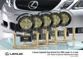 lexus top brand lexus tops j d power survey for fifth consecutive year lexus uk