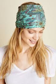 floral headband soft hippie light teal floral headband earthbound trading co