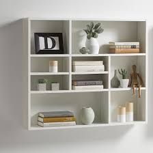 wall shelves andreas wall mounted shelving unit in white