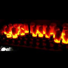 led flame effect fire light bulbs lpily e27 led flame effect fire light bulb flickering flame l led