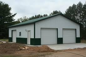 Barn Style Garages Pole Barn Style Garage Pole Barn Blueprints And Garage Plans