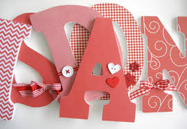 Decorating Wooden Letters For Nursery Get Cheap Decorating Wooden Letters Aliexpresscom