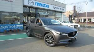 mazda suv 2017 mazda cx 5 starts rolling into japanese dealer showrooms