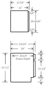 Idea Kitchen Kitchen Cabinets Measurements Standard Full Image For Standard