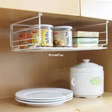 under cabinet storage shelf 2018 cheap wholesale under shelf wire rack storage organizer kitchen