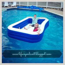 a blow up pool inside of a pool awesome ideas pinterest