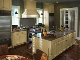 kitchen triangle design with island think outside the triangle hgtv