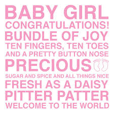 baby sentiments card by megan claire notonthehighstreet com