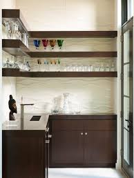 kitchen bar cabinets brown contemporary kitchen bar shelves for glasses also small