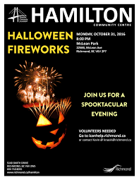 city of richmond bc halloween fireworks