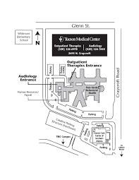 maps u0026 directions tucson arizona az tucson medical center