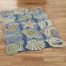 Seashell Bathroom Rugs Captivating Seashell Bath Rug With 47 Best 18 Summit Rugs Images