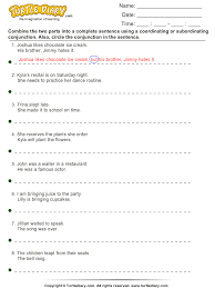 subject verb agreement worksheets with answers 10th grade best