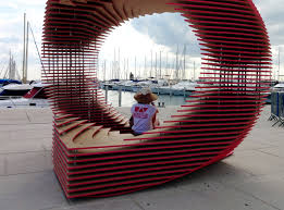 Shape Shifting Furniture Shape Shifting Porthotel Transforms From A 2d Symbol Into A 3d
