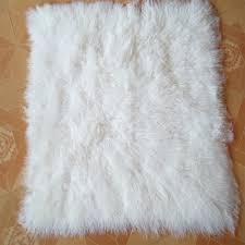 White Sheepskin Rugs Lamb Fur Rug Roselawnlutheran