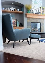 West Elm Armchair Wing Chair Love Affair Of Decorating