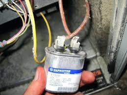 furnace fan wont shut off furnace fan blower motor will not shut off doesnt turn on capacitor