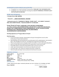 Electronic Engineering Resume Sample College Student Resume For Part Time Job High Essays On