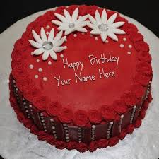 birthday cake happy birthday cake with name write name on birthday cake online