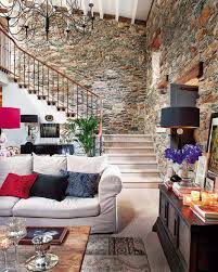 rural rustic interior design in the house italian home interior design