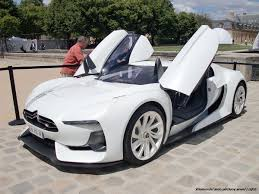 citroen supercar citroen gt cruising in paris youtube