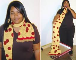 knitting pattern bacon scarf 12 totally crazy scarves cool scarves unique scarves oddee