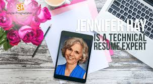 Jennifer Hay Is A Technical Resume Expert   Simple Programmer Simple Programmer By