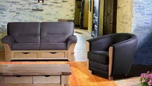 canape rustique impressionnant canape relaxation 3 places 17 salons rustiques