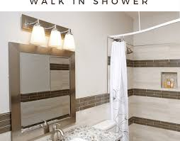 shower building a bench for your shower amazing diy walk in