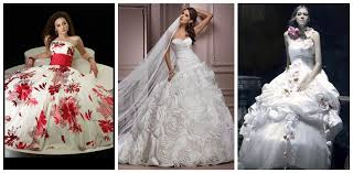 gorgeous ball gown wedding dresses with flower accents sang maestro